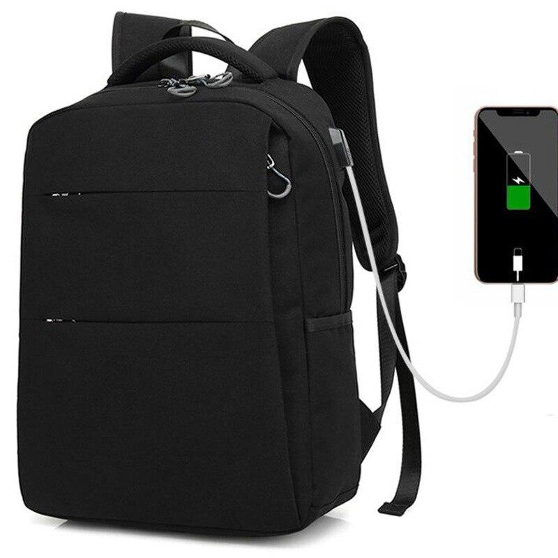 Sac d'ordinateur portable 14-15.6 pouces femmes hommes sac d'ordinateur portable 14-15.6 pouces sac d'ordinateur USB pour Macbook Air Pro Dell HP sac