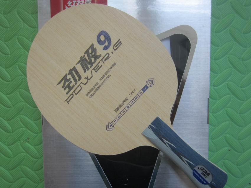 Original DHS Power G9 (PG9) table tennis blade fast attack with loop table tennis rackets racquet sports indoor sports original tibhar nimbus soft pimples in table tennis rubber table tennis rackets racquet sports germany fast attack with loop
