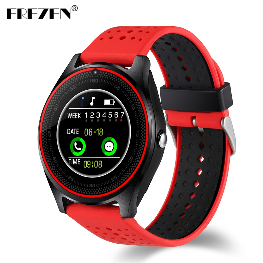 FREZEN V9 Bluetooth Smart <font><b>Watch</b></font> <font><b>Pedometer</b></font> Dial Answer Call Music Player Clock <font><b>Support</b></font> <font><b>SIM</b></font> TF Card with Camera for Android PK V8