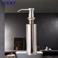 Chrome Polish Finish Soap Dispenser Kitchen Bathroom Sink Faucet Shampoo Shower Lotion New Liquid Soap Dispenser