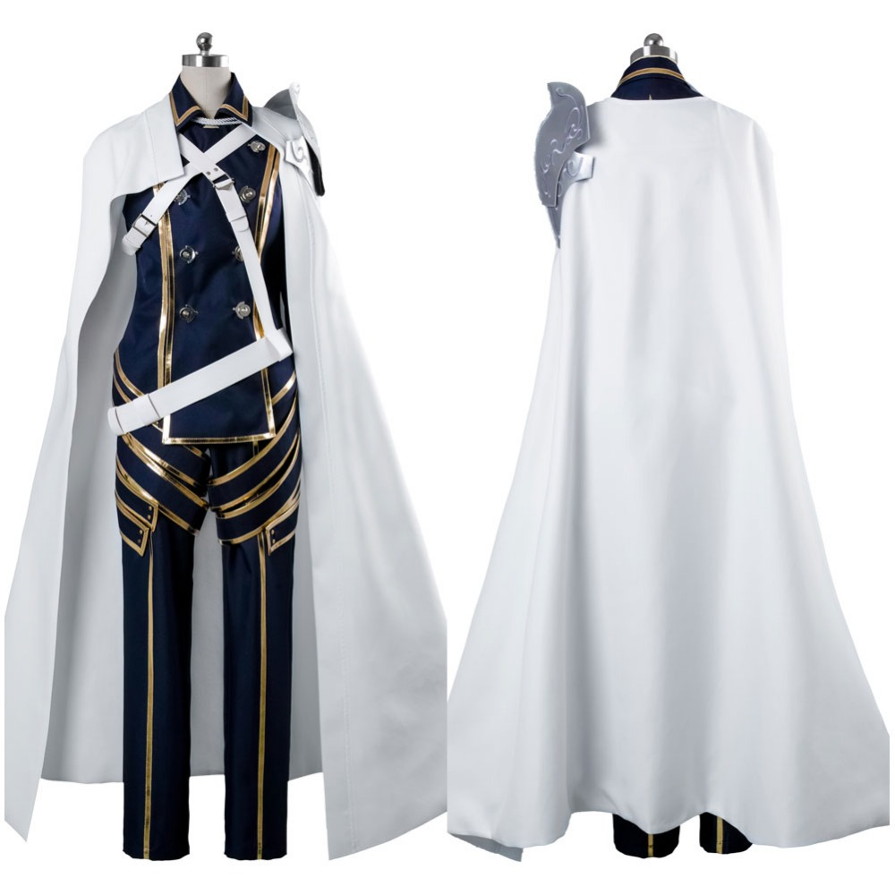 Fire Emblem Cosplay Costume Fire Emblem Awakening Cosplay Prince Chrom Battle Suit Cosplay Costume Adult Halloween Carnival