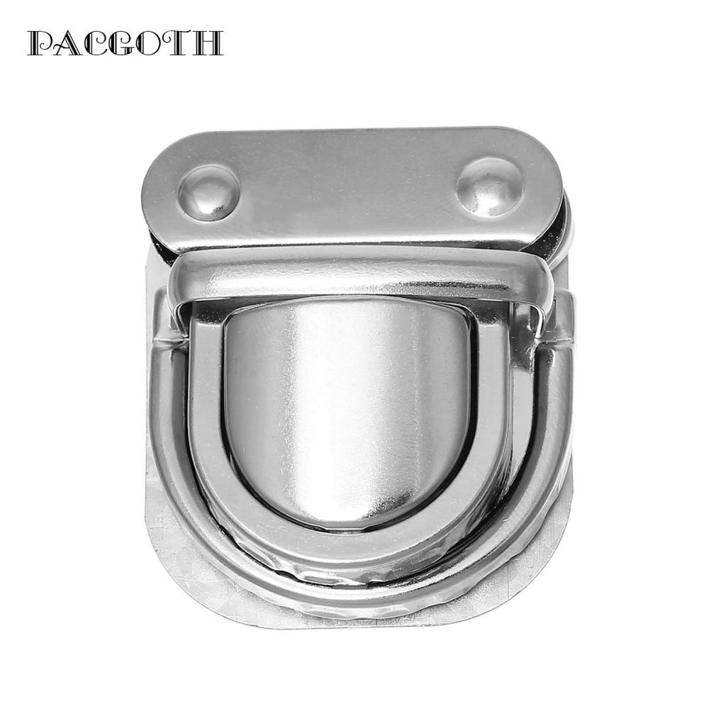 PACGOTH Iron Based Alloy Purse Handbag Lock Clasps Closure Silver Tone 4.6x3.8cm 4.3x3.8cm 4.1x3.7cm, 5 Sets(3 PCs/Set) pacgoth iron based alloy kiss clasp lock purse frame arch silver tone dot 13x7 5cm open size 14x13cm 3 pcs