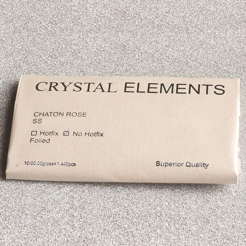 No Hot Fix Rhinestone Peridot Tamaño diferente Cristal de cristal - Arte de uñas - foto 6