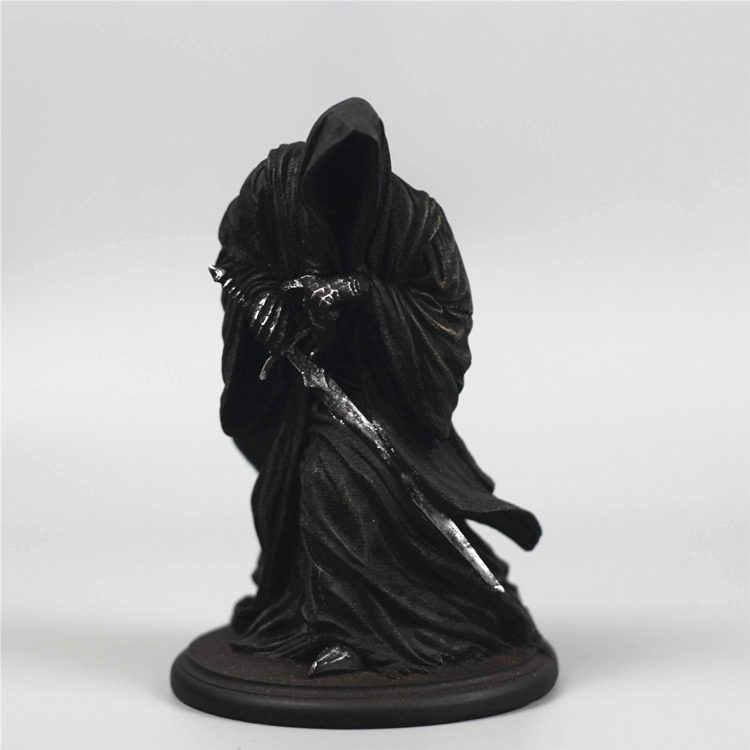 [ใหม่] คอลเลกชันลอร์ดออฟเดอะริงส์อัศวินแม่มด King Black Riders Ringwraiths รุ่นเรซินรูปปั้นตกแต่งของขวัญ