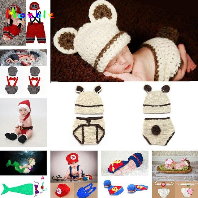 Ganchillo bebé Hat Cocoon bebé recién nacido Pea Pod fotografía ...