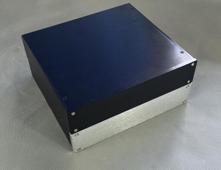 Breeze Audio All amplifier case power amp amplifier chassis DAC aluminium chassis aluminum amplifier enclosure amplifier case queenway audio bz2012rkv aluminium amplifier chassis multi amplifier case 202mm 143mm 362mm 202 143 362mm