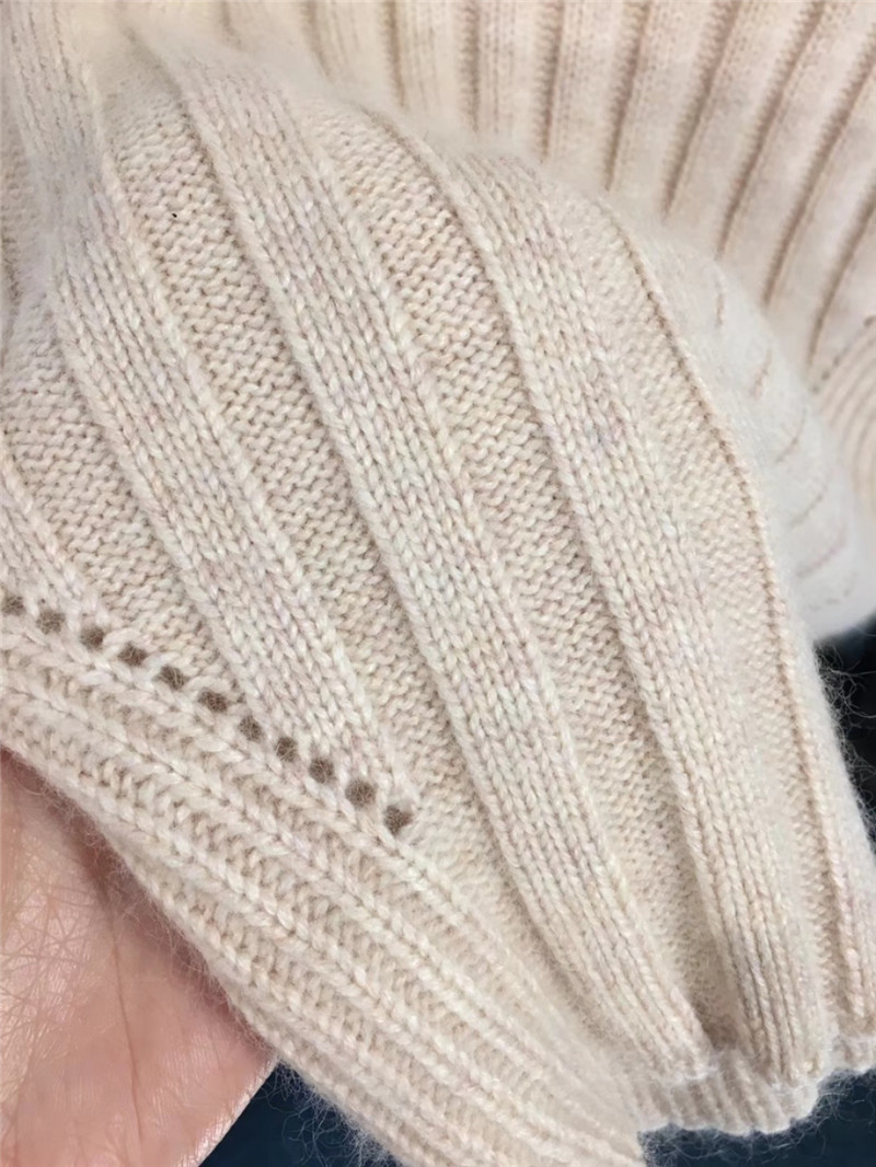 Sweater Lapin Roulé Winter Cheveux Arrivée Nouvelle winter Sweater Chandails Fomolayime D'hiver Chandail Col 2018 qxBFP6