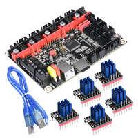 BIGTREETECH SKR V1.3 Smoothieboard 32-Bit Controller Approval TMC2208 UART Upgrade ARM Motherboard Suitable TMC2130 TFT3.5 Panel