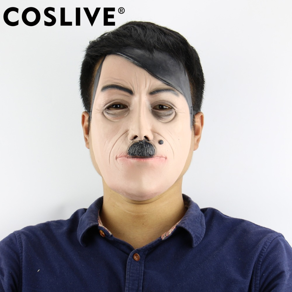 Coslive Christmas Clearance Sale Cheap Mask Novelty Halloween Mask Deluxe Costume Party Latex Celebrity Funny Masks Decorations