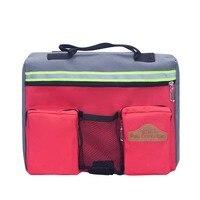 Pet Dog Outdoor Backpack Medium Large Dog Adjustable Saddle Bag Harness Carrier For Traveling Hiking Camping