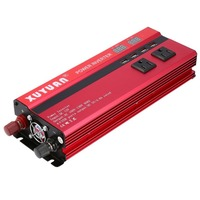 Professional 6000W Power Inverter DC 12V to AC 110V LED Display Car Sine Wave Converter for Household Appliances