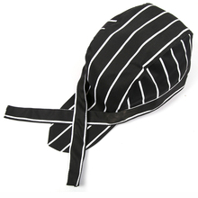 High Quality Wholesale Pirate Hat Chef Waiter Hat Hotel Restaurant Canteen Bakery Cooking Caps Cooker Workwear Uniform chef hat