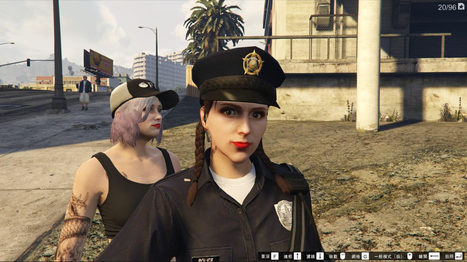 【捏脸】GTA5女角色捏脸数据插图(1)
