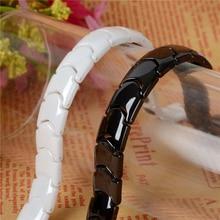 Black & White Ceramic Bracelet