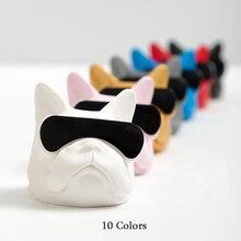 2019New Creative Car Ornaments PVC Sunglasses Bulldog Interior Fragrance Accessories Perfume Aromatherapy Decoration