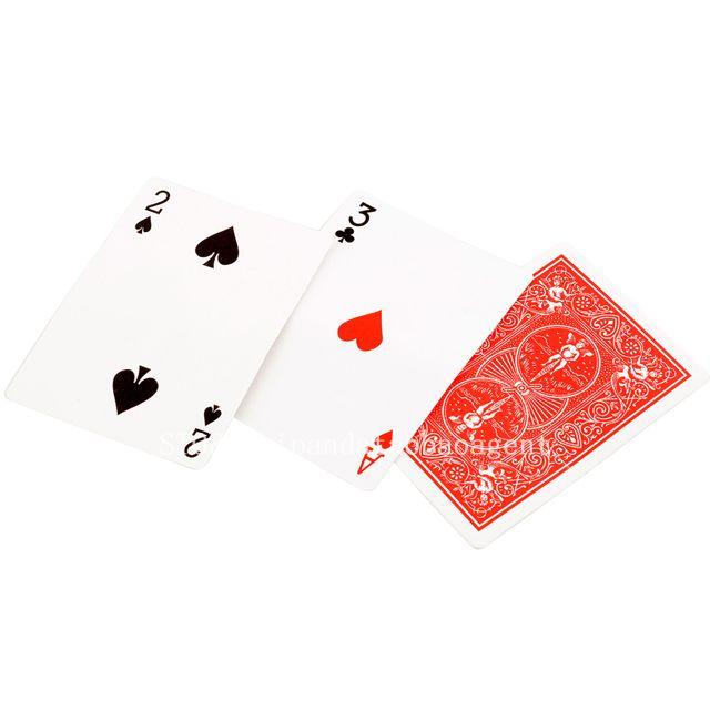 2pcs-HotMagic-ultimate-3-three-card-monte-poke-Trick-Classic-Sunflowermagic-Card-cubes-d22-4