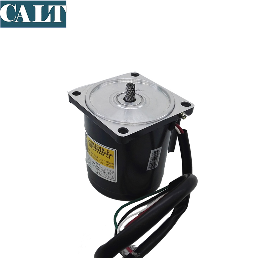 Cheap GPG gear motor 4IK 30GN C 220V 110V 30W induction single phase motor without gear head no gear box