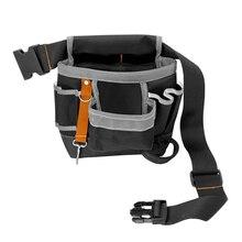 Herramientas bolsa de almacenaje herramientas de electricista cintura  bolsillo Oxford tela carpintero 0f4dad1dd43f