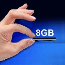 Мини 8 Гб клип USB Голосовая активация цифровой Аудио Диктофон Mp3 50 часов записи#5
