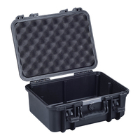 IP67 waterproof strong plastic suitcase with foam inserts on hot sale