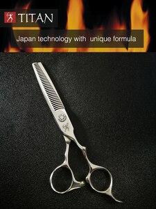 Image 5 - Titan hair thinning scissors with beard ball screw VG10 STEEL free shipping