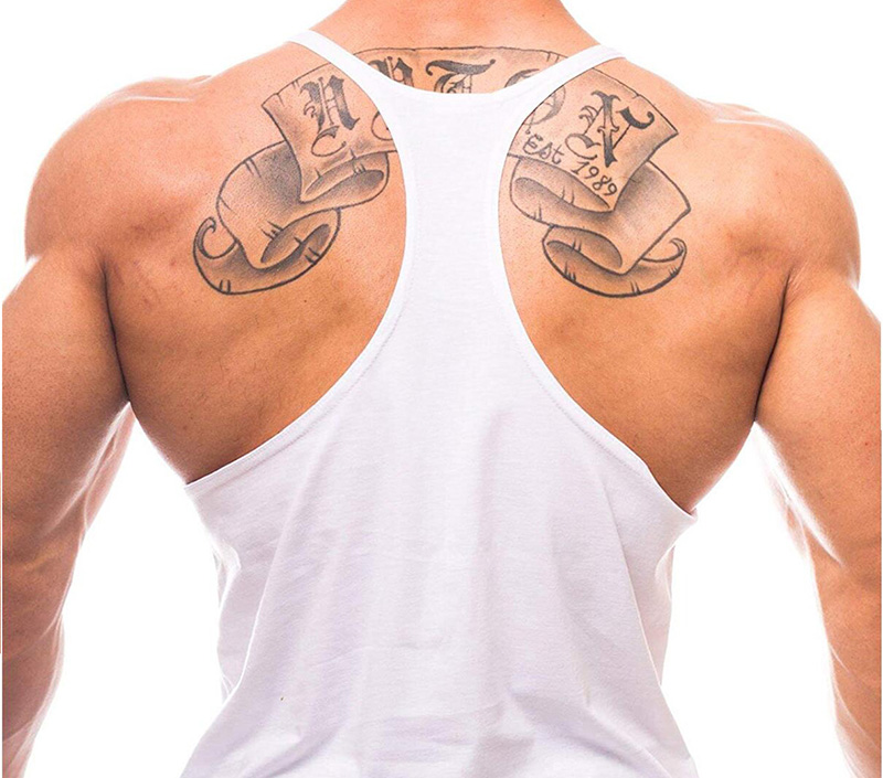 Brand Clothing Muscle Bodybuilding Stringer Tank Top Mens Fitness Singlets Cotton Sleeveless shirt Workout Sportwear Undershirt 29