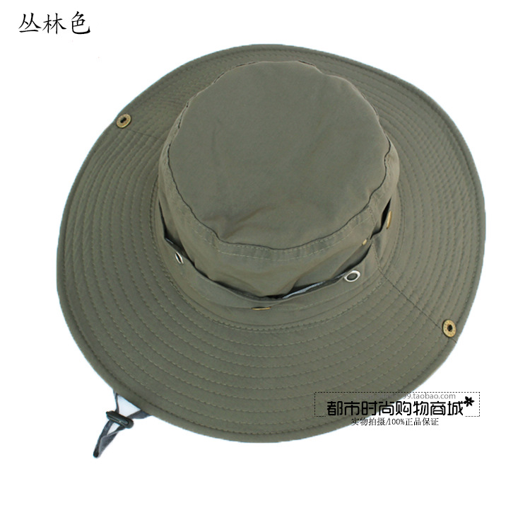 HotSelling bucket hats Fashion Hiking Cap Hunting Fishing hats Sun Block Outdoor Bob Camping Bucket Hat Cap Sun hat freeshipping