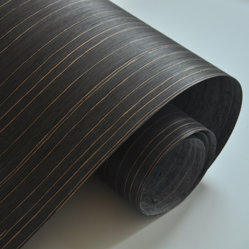 Engineered Ebony Wood Veneer For Furniture