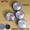 20pcs Set 60mm OZ Racing Car Badge Emblem Sticker Car Wheel Center Cover Cap Hub Rim