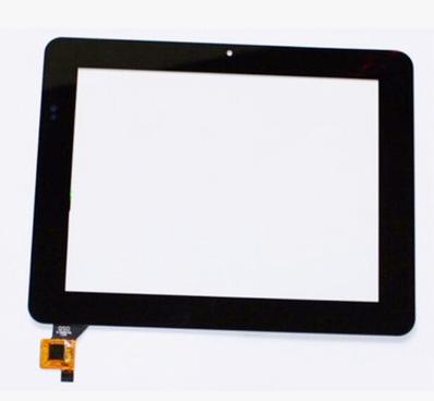 Nueva original de 8 pulgadas capacitiva de la tableta de pantalla táctil QSD E-C8009-02 envío gratis