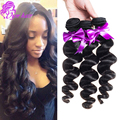 Brazilian Loose Wave 10A Unprocessed Virgin Brazilian Hair Loose Wave Human Hair Weave 4 Bundles Mink Brazilian Hair Loose Wave