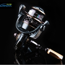 TSURINOYA Jaguar 2000/3000  Spinning Fishing Reel 9+1BB Double Spool Stainless Steel Bearing Ultra-light Lure Spinning reel
