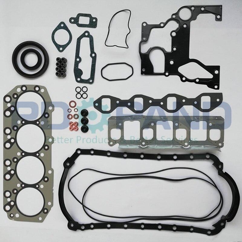 4JB1 4JB1T 4JB1-T Kit de réparation de moteur complet jeu de joints de reconstruction 5-87812-684-4 pour pick-up Isuzu 2800 ELF 250 NKR NHR