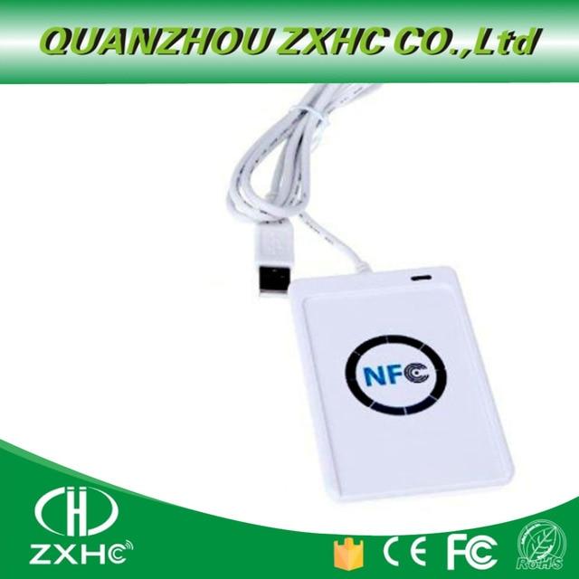 ACR122U USB NFC kart okuyucu Yazar ISO14443 Protokolü S50 Ntag213 Ntag215 Ntag216