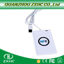 Iso14443 프로토콜 s50 ntag213 ntag215 ntag216 용 acr122u usb nfc 카드 리더기