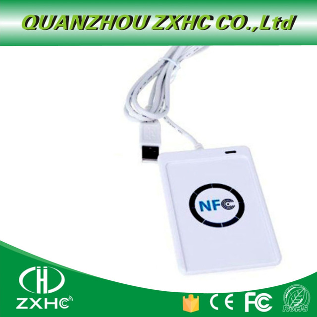 USB считыватель NFC ACR122U, устройство для чтения карт для ISO14443, протокол S50, Ntag213, Ntag215, Ntag216