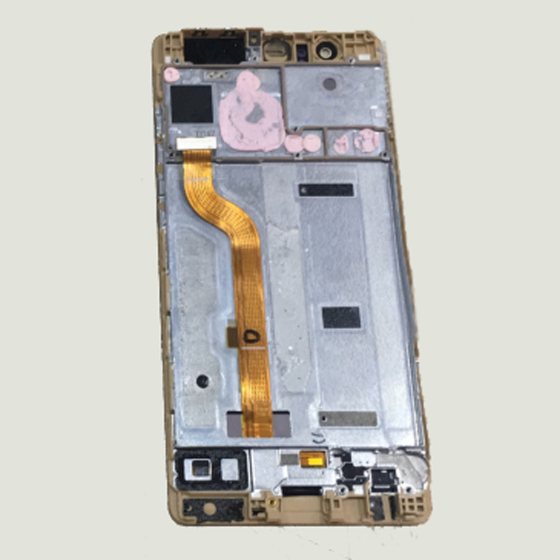 3Color For Huawei Ascend P9 EVA-L09 EVA-L19 Touch Screen Digitizer Sensor Glass + LCD Display Panel Monitor Assembly with Frame