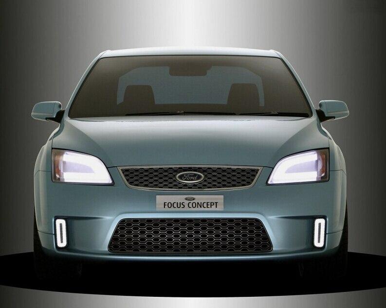 Darmowa Wysylka  Sztuk Partia Packagekit Stylizacji Samochodow Xenon Bialy Canbus Led Oswietlenie Wnetrza Dla Ford Focus Mk Facelift Bj   W