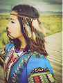 Boho Weave Bird Feather Tassel Festival Headbands Native American Indian Hippie Headband Headdress Hair Accessories Jewelry