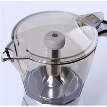 Adoolla Mini Home Kitchen Electric Heat Coffee Maker Coffee Machine Moka Pot for 5 People
