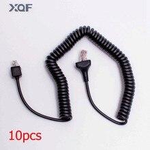 10pcs Mobile Radio Service Cable for Kenwood TKR-750E/751E TKR-850E/851E TM-271E 6PIN two way radio