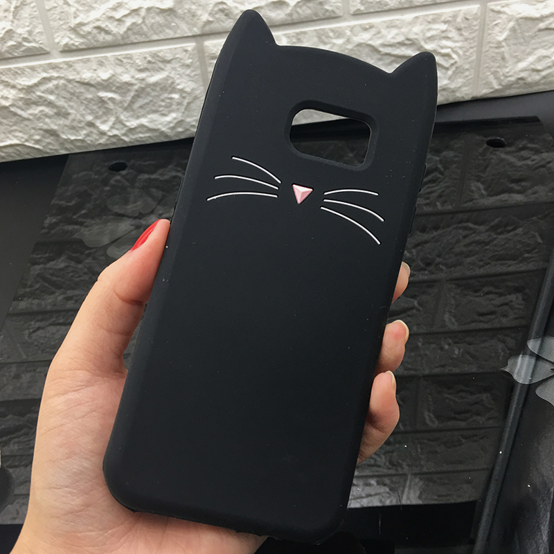 For Samsung J3 J5 2017 EU J7 pro 2017 Case Cute Cartoon Cat Cases 3D Silicone Soft Back Cover Funda For Galaxy J530 Phone Cases (2)