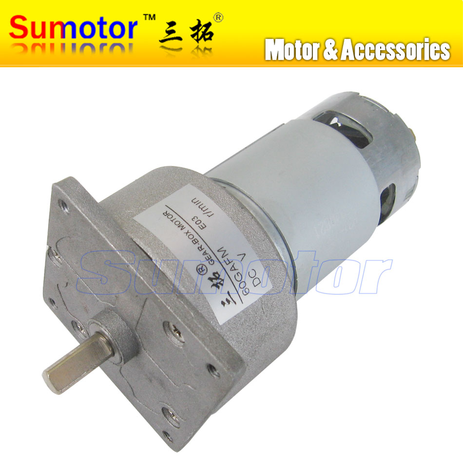 60GAFM DC 12V 24V Mini Electric Metal Gear Reducer Motor High torque for DIY engine automatic door-lock machine Optional speed