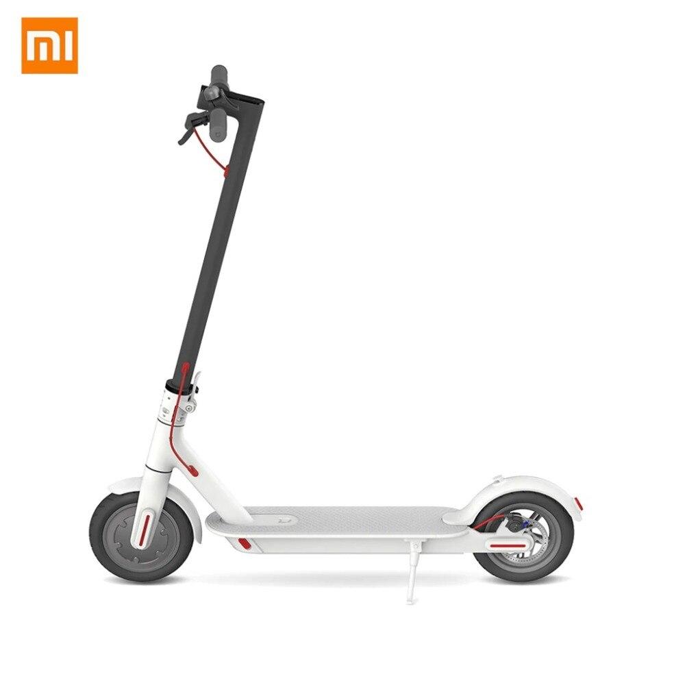Xiaomi Mi Electric Scooter, Stunt scooter, 25 km/h, 100 kg, White, 20°, Aluminium
