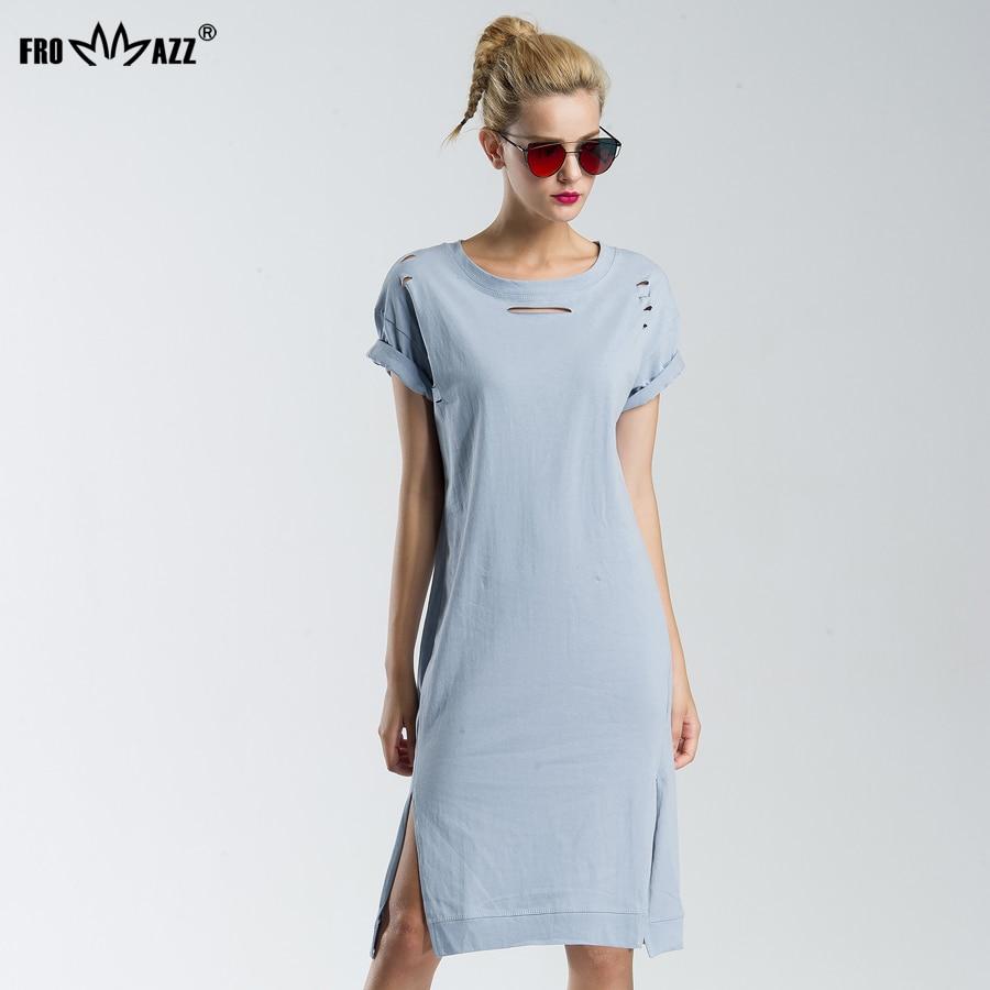 Frommazz Sexy Women Summer Bandage Dress 2017 Fashion Causal Hollow