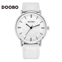 Fashion Watch Women DOOBO Brand Casual Sport Leather Strap Classic Business 50m Quartz Wrist Watches Men