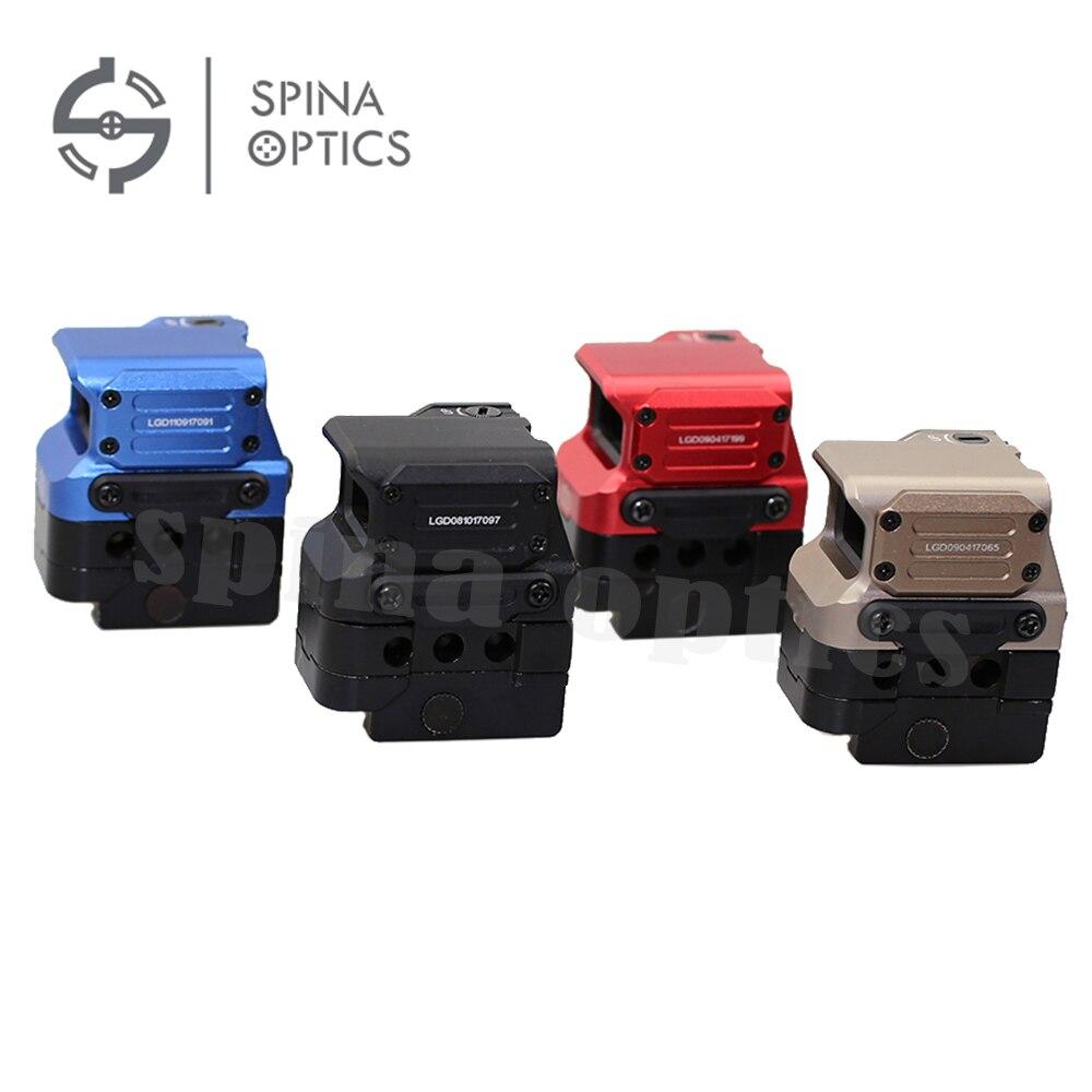 SPINA OPTICS 전술 광 FC1 적색 도트 시력 반사 시력 20mm - 수렵