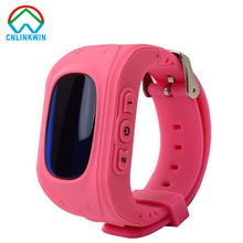 HOT Smart watch Children Kid Wristwatch Q50 GSM GPRS GPS Locator Tracker Anti-Lost Smartwatch Child Guard for iOS Android