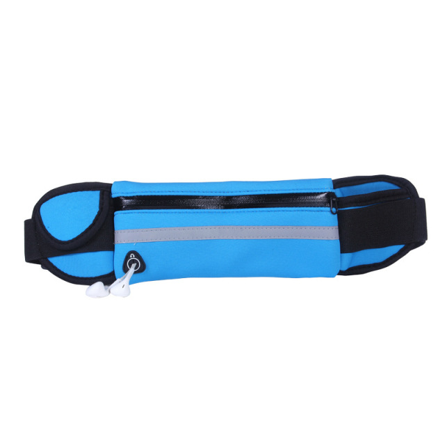 Hot Outdoor Running Waist Bags Men Women waist Packs Bags Unisex Sport Nylon Waistband for accessory men Small Travel Belt Bag 3
