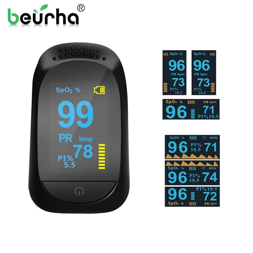 OLED Digital Finger oximeter,pulse oximeter,oximetro de pulso,fingertip pulse oximeters,PI sleep heart rate monitoring detector acurio as 301 finger pulse oximeter вращающийся oled экран